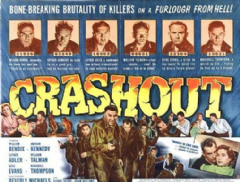 Crashout 1955 DVD - William Bendix / Arthur Kennedy